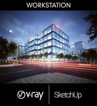 V-Ray 3.6 für SketchUp Workstation + 5 Render Nodes